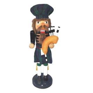 "14"" Irish Bagpiper Nutcracker"