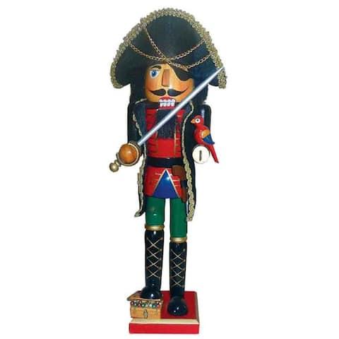 "15"" Pirate Nutcracker"