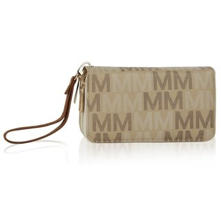 "MKF Collection by Mia K. Farrow Hofstra ""M"" Signature Wristlet"