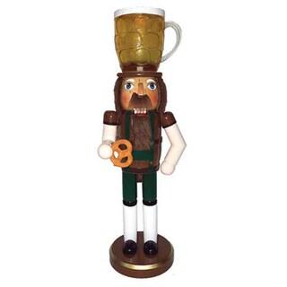 "14"" Beer & Pretzel Nutcracker"