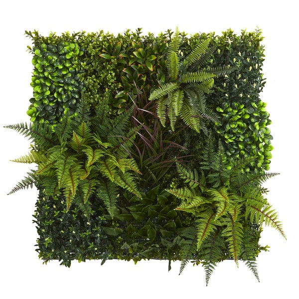 "29"" x 29"" Artificial Living Wall UV Resistant (Indoor/Outdoor)"