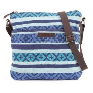 Buy Blue, Fabric Crossbody   Mini Bags Online at Overstock.com   Our ... a85bcb4ddf