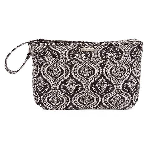Black Bohemian Handbags VHC Dahlia Hobo Hobo Bag Cotton Floral - Flower Pewter Hardware