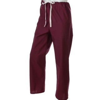 Medline Wine Unisex Reversible Scrub Pants