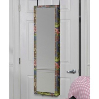 India Design Over the Door Cosmetic Armoire Mirror