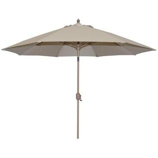 Tropishade Patio Umbrella, Rotational Autotilt with Beige cover