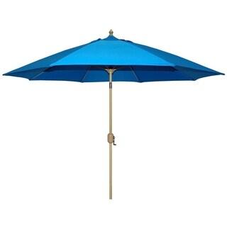 Tropishade Patio Umbrella, Rotational Autotilt with Blue cover