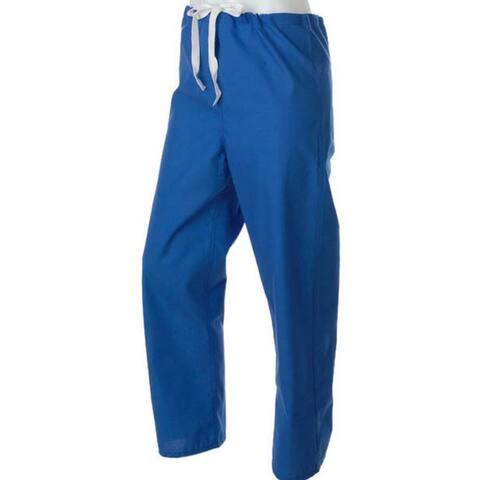 Medline Royal Blue Unisex Reversible Scrub Pants