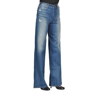 True Religion High Rise Ava Flare Wide Leg Denim Jeans