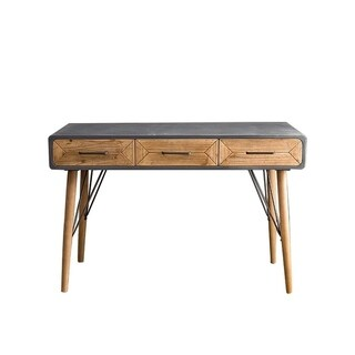 Teton Home Console Table with Three Drawers AF-130