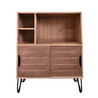 Teton Home AF-135 Wooden Storage Cabinet