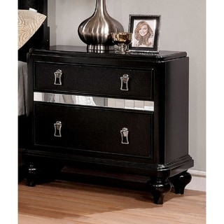 Link to Silver Orchid Gibson Clarita Glam 2-drawer Nightstand Similar Items in Bedroom Furniture