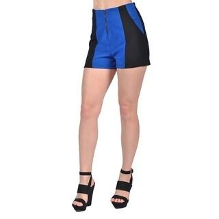Womens Fashion Short Skirts Shorts Blue and Black