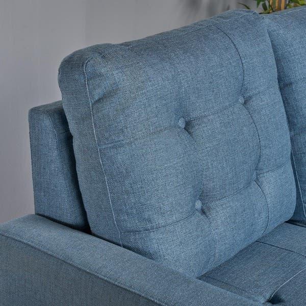 Terrific Shop Nasir Mid Century Modern 4 Piece Sectional Sofa Set By Spiritservingveterans Wood Chair Design Ideas Spiritservingveteransorg