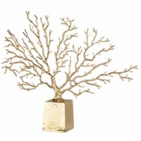 Captivating Metal Tree Accent, Gold