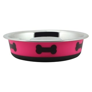 Slow Feeder Spill Proof Pet Bowl Fusion Hot Pink By Boomer N Chaser