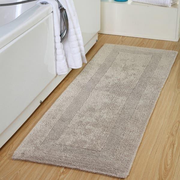 Soft Reversible Extra Long Bath Rug