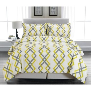 Duck River Kelsey Printing 3 Piece Duvet Cover Set