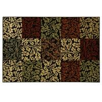 Heirloom Shadow Leaf II area rug by Bacova - 91x114
