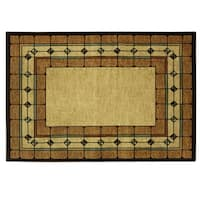 Heirloom St. Chapelle area rug by Bacova - 87x60