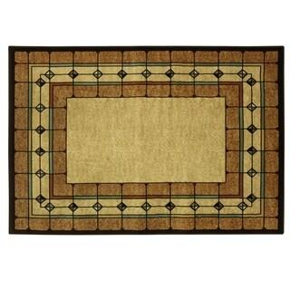 Heirloom St. Chapelle area rug by Bacova - 87x60