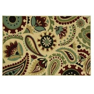 Heirloom Paisley Park area rug by Bacova - 87x60
