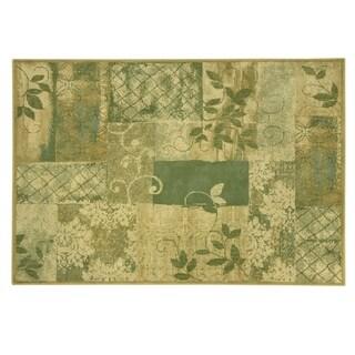 Bacova Heirloom Sage Vine Tapestry Area Rug - 7'7 x 9'6