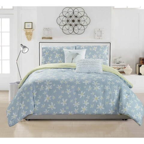 Kensie Zophiel 2 Piece or 3 Piece Duvet Cover Set