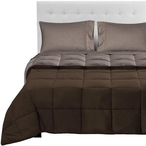 Premium 1800 Series Ultra-Soft Microfiber Reversible Bed-In-A-Bag