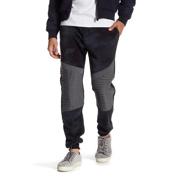 Men's Jogger With U.P Details On Knee.
