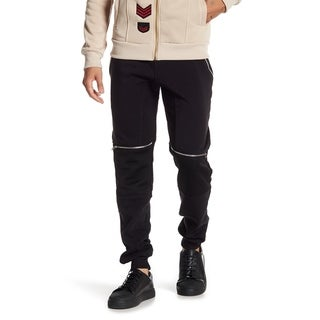 Men's Jogger With Zipper On Knee
