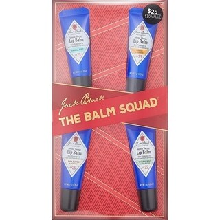 Jack Black The Balm Squad Holiday 4-piece Gift Set