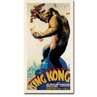 King Kong, 1933 by Anonymous Gallery-Wrapped Canvas Giclee Art