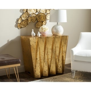 Safavieh Gisela Gold Hex Console (As Is Item)