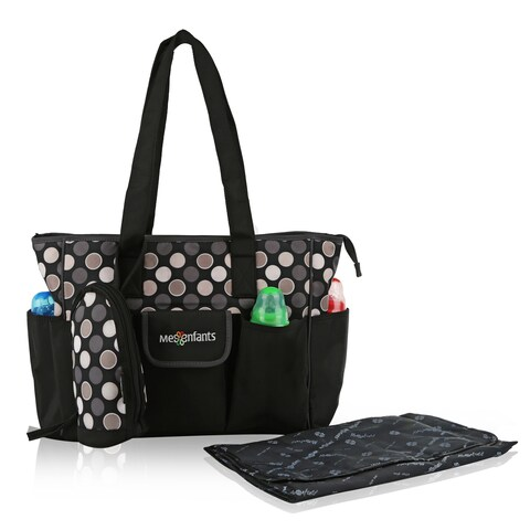Mes Enfants simplicity Series Marcel Microfiber Baby Bag