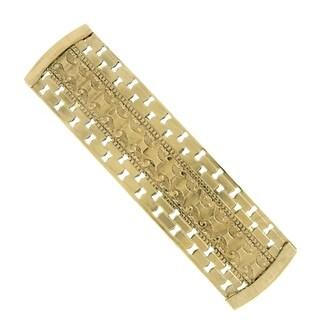 1928 Jewelry Gold Tone Hair Barrette