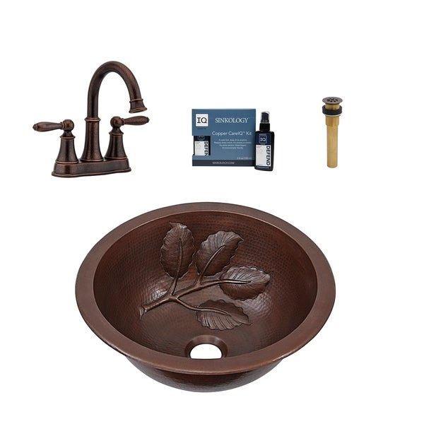 Sinkology Newton All in One Sink and Courant Faucet Kit. Opens flyout.