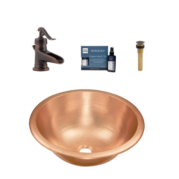 Sinkology Born All-in-One Sink and Ashfield Faucet Kit