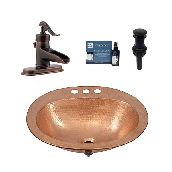 Sinkology Kelvin All-in-One Sink and Ashfield Faucet Kit. Opens flyout.