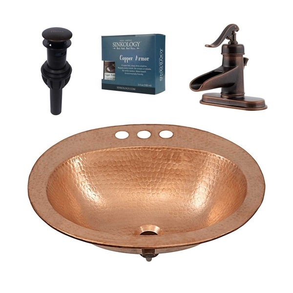 Sinkology Kelvin All-in-One Sink and Ashfield Faucet Kit
