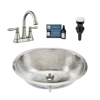 Link to Sinkology Pavlov Nickel All-in-One Sink and Courant Faucet Kit Similar Items in Sinks
