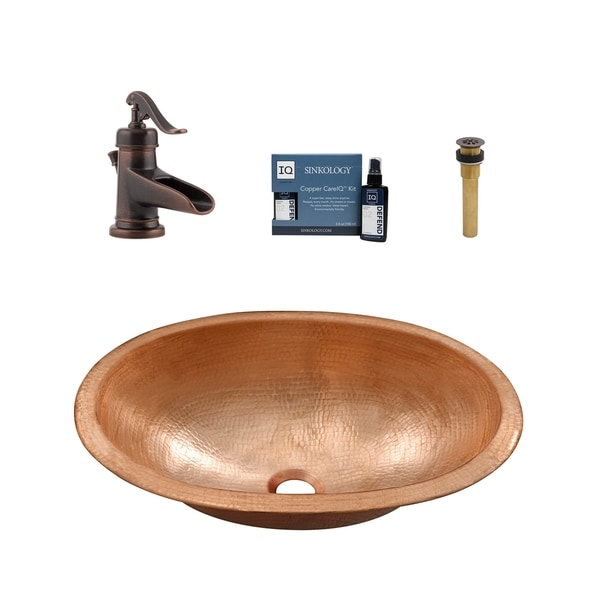 Sinkology Strauss and Ashfield All-in-One Sink and Faucet Kit. Opens flyout.