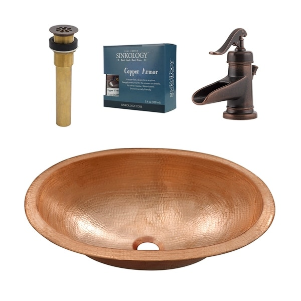 Sinkology Strauss and Ashfield All-in-One Sink and Faucet Kit