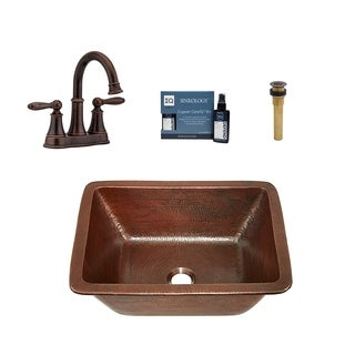 Sinkology Hawking 17 All in One Sink and Courant Faucet Kit