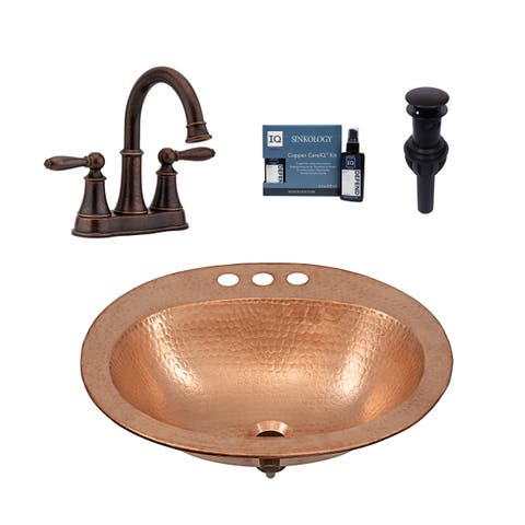 Sinkology Kelvin All in One Sink and Courant Faucet Kit