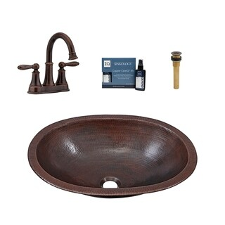 Sinkology Wallace All-in-One Sink and Courant Faucet Kit
