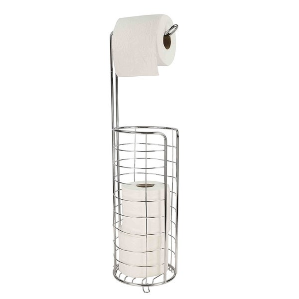 Sweet Home Collection Toilet Tissue Dispenser- Chrome