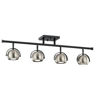 Link to Kichler Lighting Solstice Collection 4-light Black Rail Light Similar Items in Track Lighting