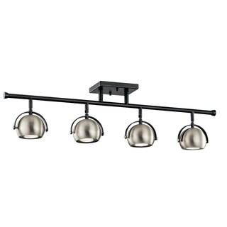Kichler Lighting Solstice Collection 4-light Black Rail Light