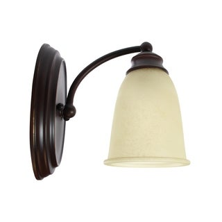 1-Light Sconce Mediterranean Bronze by Capital Lighting